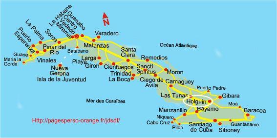 Cuba location chambre d'hôte chez l habitant à Holguin, maison